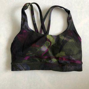 lululemon athletica Intimates & Sleepwear - Lululemon Energy Bra Aurora Dark Chrome Multi Sz 4